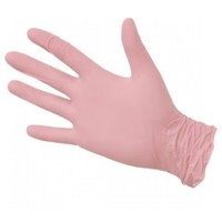 Перчатки NitriMax (розовые)